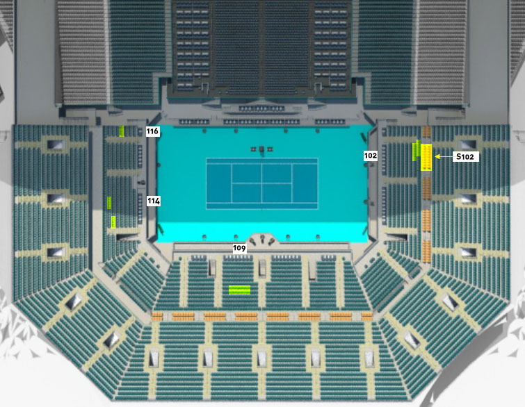 Miami Open Vip Tickets Miami Tennis Tour Packages